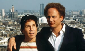 Art Garfunkel with Paul Simon in 1982: he said that at school he felt sorry for his friend because of his height, so offered him friendship as a compensation.