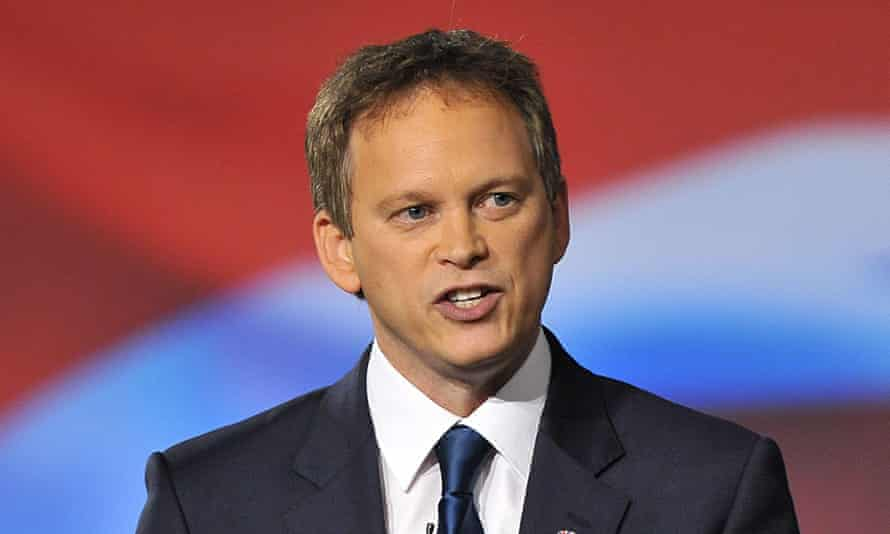 Grant Shapps, Tory party chairman.