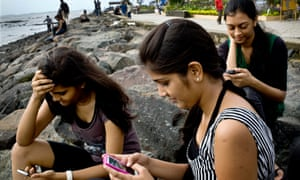 India is one of the world's fastest-growing mobile phone markets.