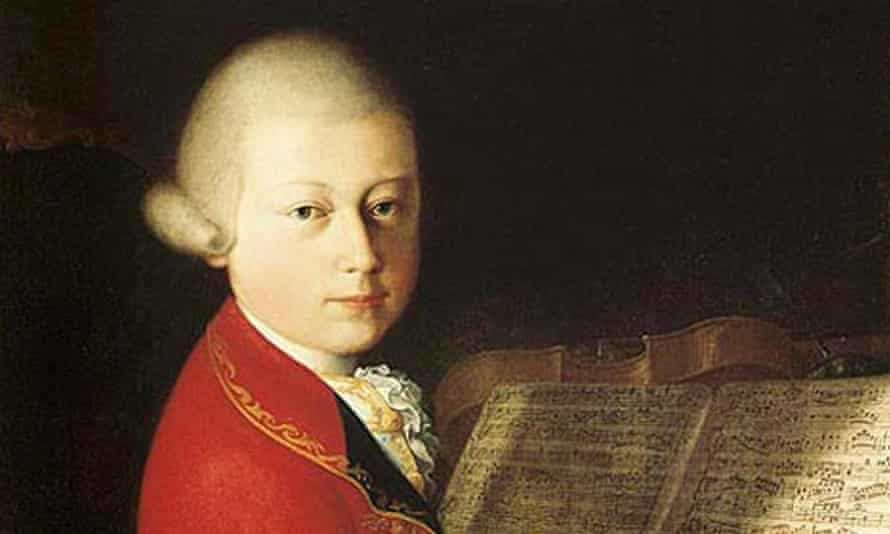 A lock of hair from Wolfgang Amadeus Mozart is going on sale at Sotheby's.