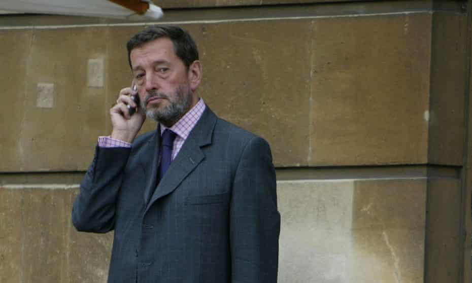 David Blunkett pictured in 2004, when he was home secretary.