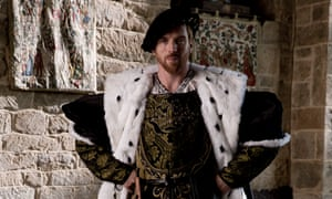 Damian Lewis as Henry VIII in Wolf Hall