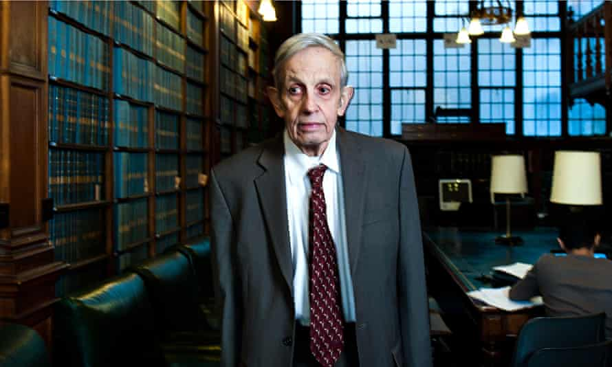 John Nash at the Oxford Union last year.