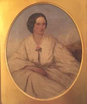 Julie Myerson story. Rosa Coane, painted in 1862 by Sydney Hodges RA.