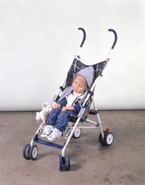 Baby in Stroller 1995