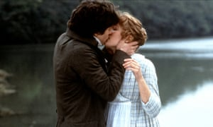 Hugh Grant and Emma Thompson get passionate in Sense and Sensibility.