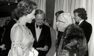 HM the Queen and Agatha Christie