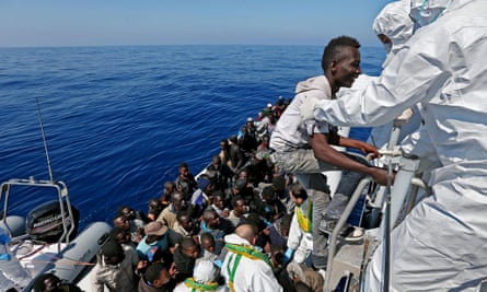 The news has been littered with reports of illegal migrant ships sinking in the Mediterranean sea.