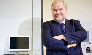 Phil Zimmermann at the V&A Museum, in London.