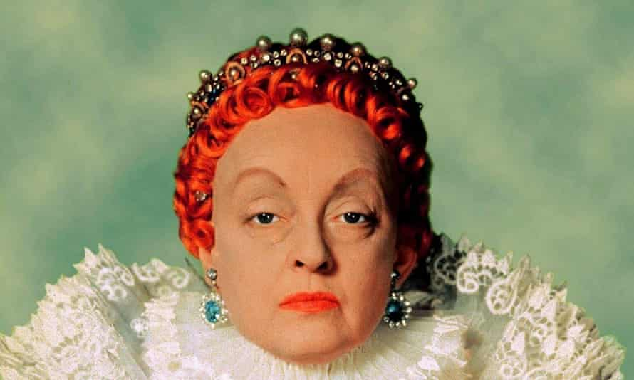 Bette Davis in a still from the film The Private Lives of Elizabeth and Essex.