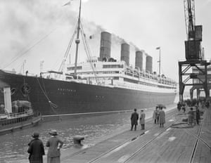<strong>September 1923 </strong>The RMS Aquitania leaves Southampton on a transatlantic voyage to New York.