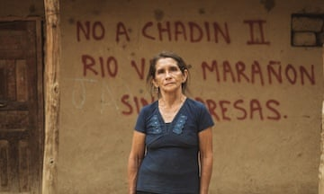'No to Chadin 2': a resident of Mendan, one of the many villages that would be flooded by the proposed Chadin 2 dam.