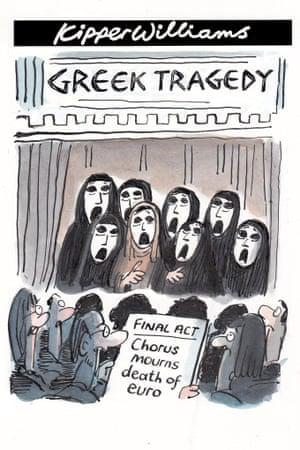 Kipper Williams on Greece