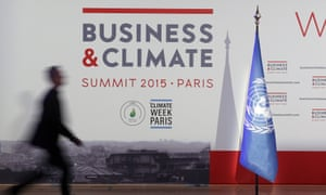 The Business and Climate Summit took place in Paris, ahead of the UN negotiations in the same city later this year