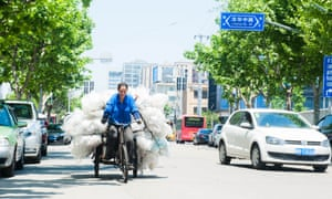 Informal recycling in China