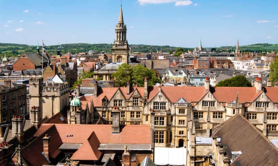 Oxford skyline.