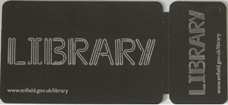 Enfield library card