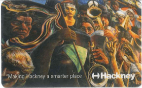 Hackney library card
