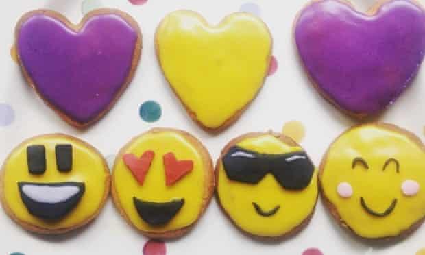 Emoji biscuits