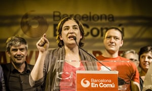Historic victory for Ada Colau in municipal elections in Barcelona