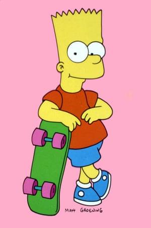 Aye caramba … Bart Simpson
