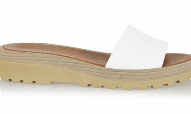 See by Chloé, Robin leather slides, Net-a-porter