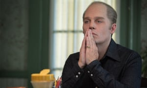 In Depp trouble ... the Pirates star as notorious gangster Whitey Bulger in Black Mass.