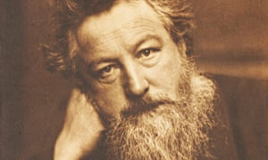 A photograph of William Morris by Frederick Hollyer