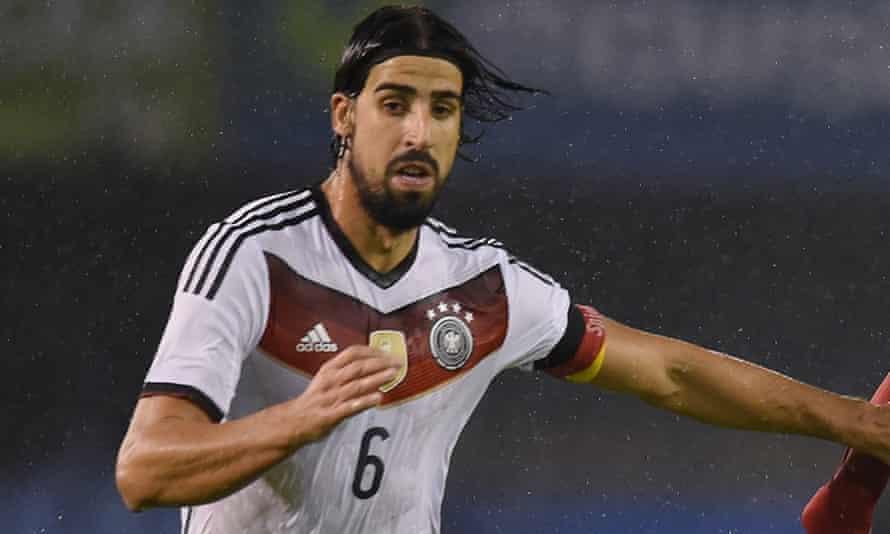 Germany defender Sami Khedira.