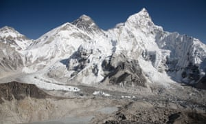 Mount Everest from the summit of Kala Patthar