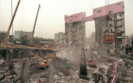 After the collapse, inspections of many of Seoul's towers revealed that just one in fifty could qualify as safe.