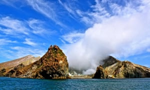 The White Island, New Zealand