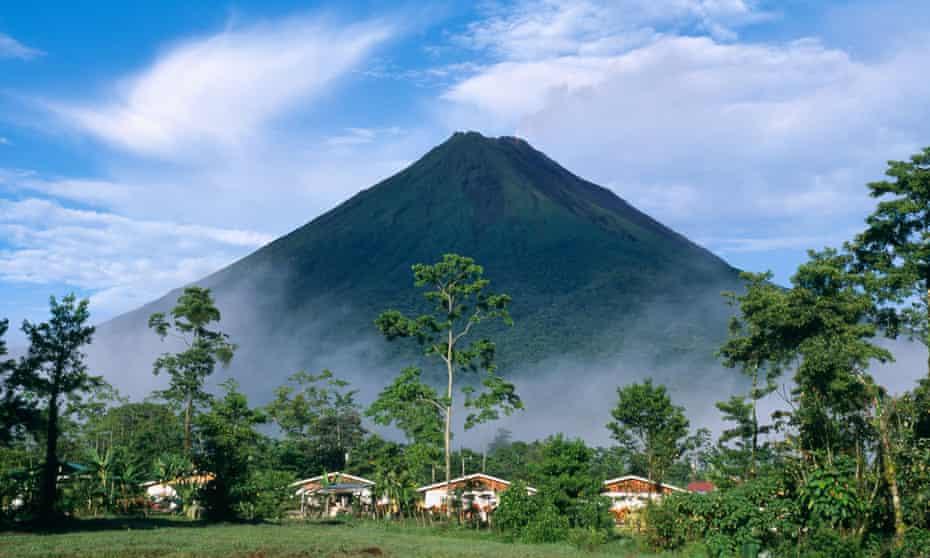 "A37CHF Volcano ""Arenal"" La Fortuna Costa RicatravelvacationholidayholidaystourismamericacentralcaribbeanmountainlandcsapenatureVolcanoArenalLaFortunaCostaRica"