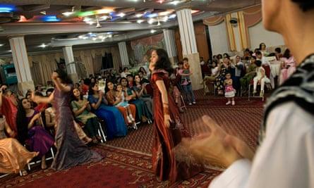 Afghanistan - Kabul - Modern Afghan Wedding Party