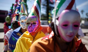 In El Salvador, celebrants participate in a traditional healing ceremony for the planet. Meanwhile, a mining company is suing the country for denying a permit based on environmental concerns.