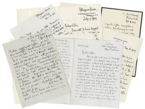 George Mallory letters to be auctioned at Bonhams in June.