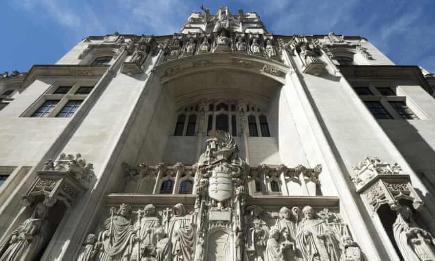 The supreme court building, Parliament Square, central London