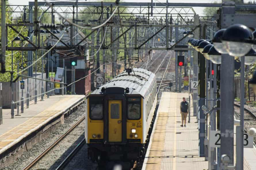 Cheshunt station in Hertfordshire. All stations will now be staffed from morning until night.