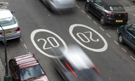 Do 20mph speed limits work?