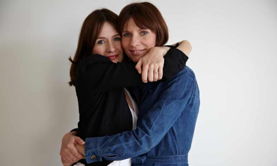 Emily Mortimer and Dolly Wells  in the first series of Doll & Em.
