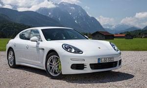Porsche Panamera S E Hybrid Car Review Martin Love Technology