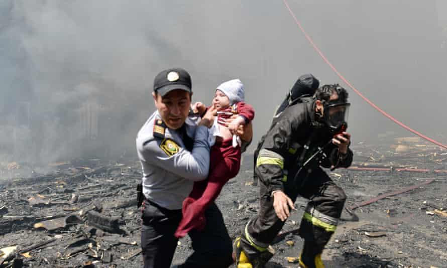 Baku fire