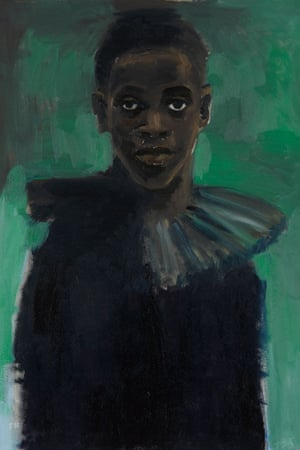 Lynette Yiadom-Boakye's A Passion Like No Other, 2012.