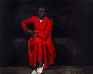 Lynette Yiadom-Boakye's Any Number of Preoccupations, 2010. Courtesy of Corvi-Mora, London and Jack Shainman Gallery, New York