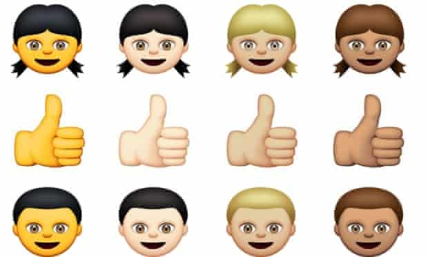 Apple's new emojis.