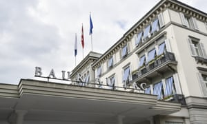 Seven people named in the indictment were arrested at the Baur en Lac hotel in Zurich on Wednesday morning.