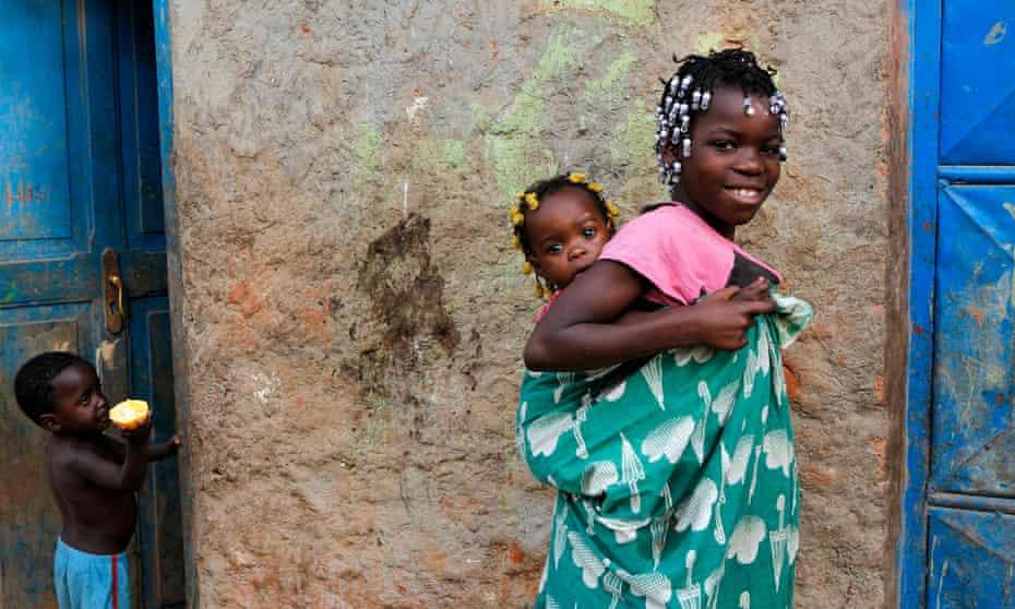 Children in Angolo