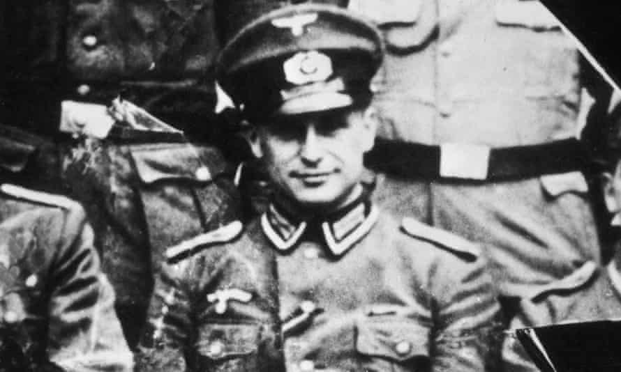 German SS officer and Nazi war criminal Klaus Barbie in army NCO uniform, 1944.
