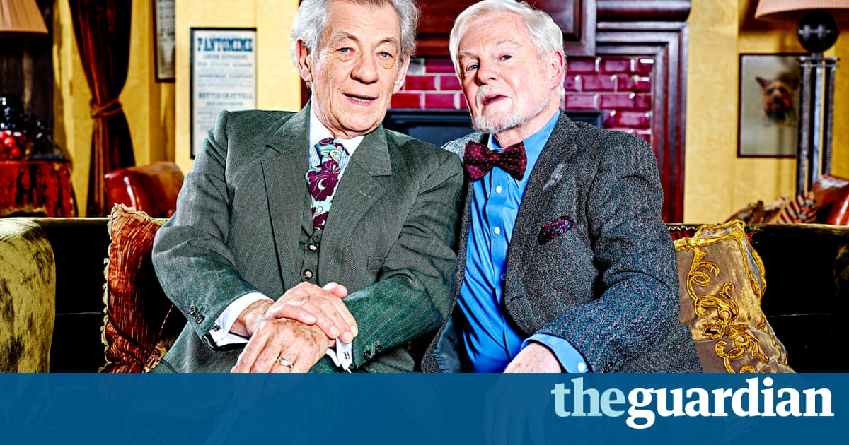 Vicious: McKellen, Jacobi and De la Tour - how the mighty have fallen | Television & radio | The Guardian