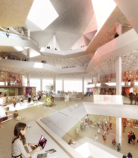 How the Future Library will look.